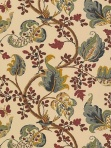 Schumacher Wallpaper with Matching Fabric Fox Hollow Document Natural Floral Traditional 5004101