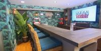 Man Caves Basement Make over Wallpaper Cole & Son