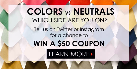 Color vs Neutral Contest to win $50 coupon to DecoratorsBest