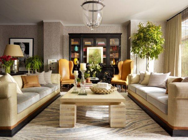 Thom Filicia Interior Decor Living Room Photo Credit Eric Piasecki