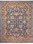 Safavieh Area Rug Traditional Red Blue Floral DY209A