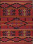 Surya Red Rug Ethnic ft483-58