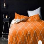 Palette Addict: Black and Orange Bedroom Idea