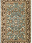 Safavieh Rug Blue Traditional Floral Area Rug HG812B