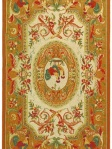 Golden Yellow Rooster Area Rug Safavieh HK48T
