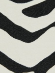 Stripe Abstract Fabric MOUNTBATTEN - Black And White Beacon hill