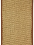 Sisal Seagrass Area Rug Natural Brown NF114B