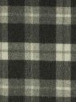 Plaid Fabric Wool Clarke & Clarke Savile - Charcoal