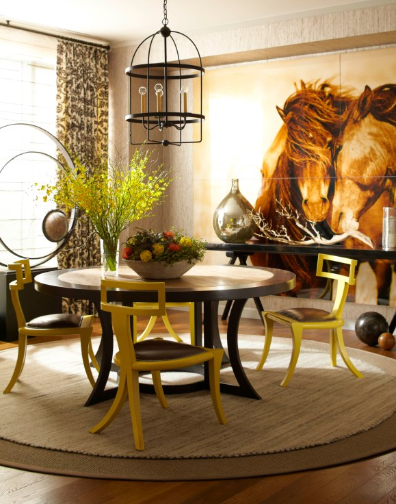 Thom Filicia Dining Room Interior Decor Neutral Photo Credit Eric Piasecki