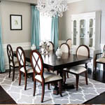 Trellis Rug Decorating Ideas