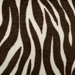 Duralee Fabric Zebra Stripe Chocolate Brown Interior Decor 15191-583