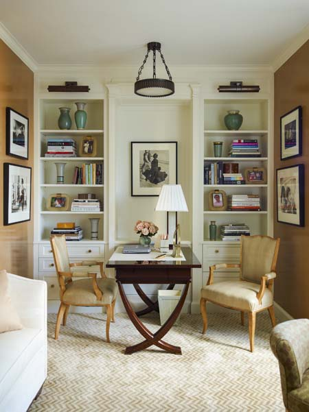 nyc home office dressing room designed by ellie cullman