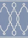 Cole & Son Border Wallapper Trellis Parterre Cobalt Blue Cole & Son 99_3014_CS