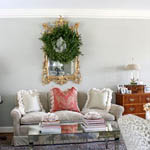 a traditional and sophisticated holiday home tour