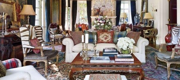 How to Get the Look of Ralph Lauren's Rustic-Chic Bedford ... Ralph Lauren Home Furniture Collectopns on