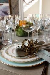 Mecox Gardens Table Setting Interior Decor Dining Room