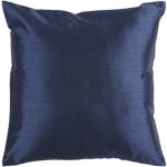 Surya Throw Pillow Deep Navy Blue Solid Interior Decor hh032