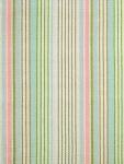 Ticking Stripe Area Rug Ana Aqua Cotton Woven Dash & Albert  RDA076