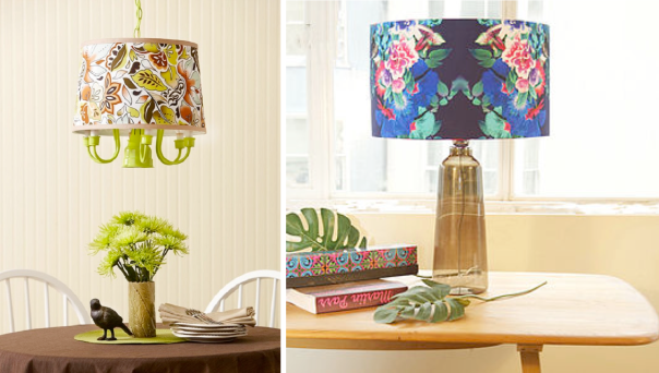 upholstered lamp shades diy