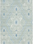 Safavieh Wool Area Rug Diamonds Blue Ivory WYD372A-5