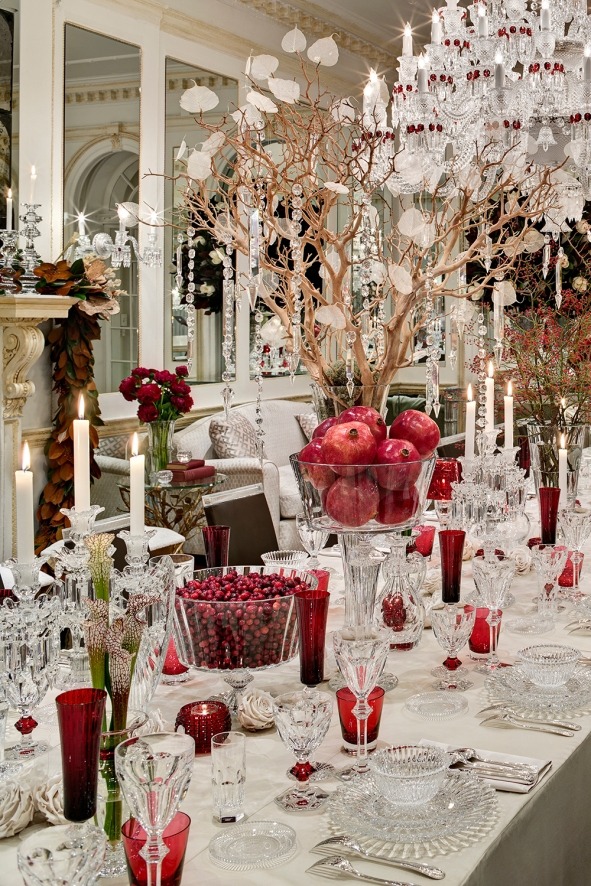 Amy Lau Dining Room Holiday House 2014 NYC Showhouse