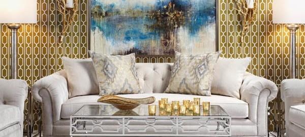 Metallic Wallpaper Decor Decoratorsbest