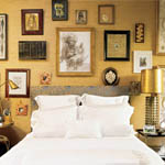 Precious Metals Rooms with Gleaming Decor
