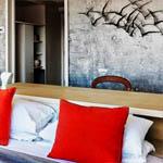 Distressed Brick Wall Interior Decor