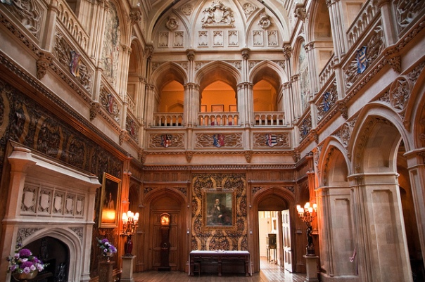 Downton Abbey Decor Highclere Castle Gallery