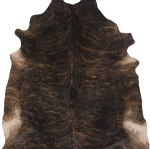 Surya Leather Hide Area Rug Brown duk1000-7sq