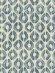 Kravet thom filicia fabric blue dots ethnic print PENNOCK-5