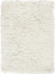 Surya White Faux Fur Area Rug whi1005-23