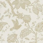 Schumacher Bali Vine Sandstone Wallpaper