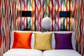 Abstract Stripes Interior Decor Pierre Frey Carriacou Linen
