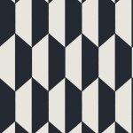 Cole & Son TILE BLACK Wallpaper