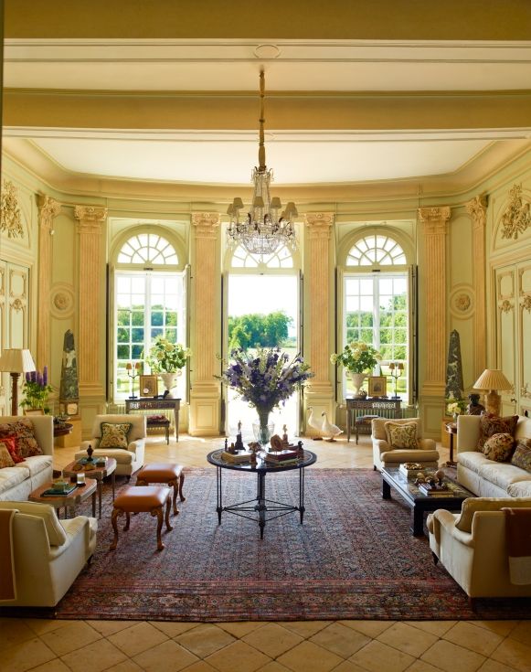 traditional chateau room interior design decor by timothy corrigan