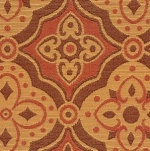 Fabricut Amalfi Pomegranate Fabric