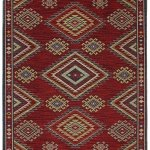 Karastan Woolrich Founders Point Garnet Rug