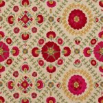 Lee Jofa AYLA TRELLIS FUCHSIARED Fabric