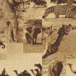 S. Harris Forever Africa Desert Fabric