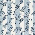 Schumacher Bagatelle Bleu Marine Fabric