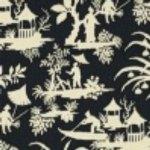 DecoratorsBest Canton Toile Midnight Wallpaper