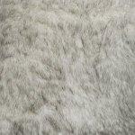 Fabricut Polar Fur Black & White Fabric