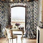 How to Pull off Matching Wallpaper and Fabric