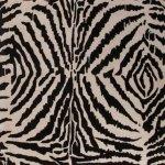 Jaipur Zebra Ikat BlackIvory Rug