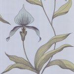 Cole and Son Orchid Wallpaper Blue