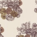 Cole and Son Wallpaper - Peonie - Beige