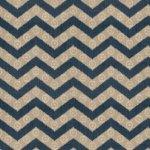 Fabricut Fabric - Chevron Kimono - Navy