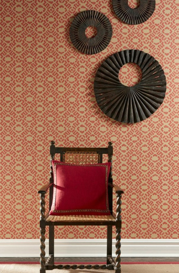 Isabelle de Borchgrave Wallcoverings from Fabricut