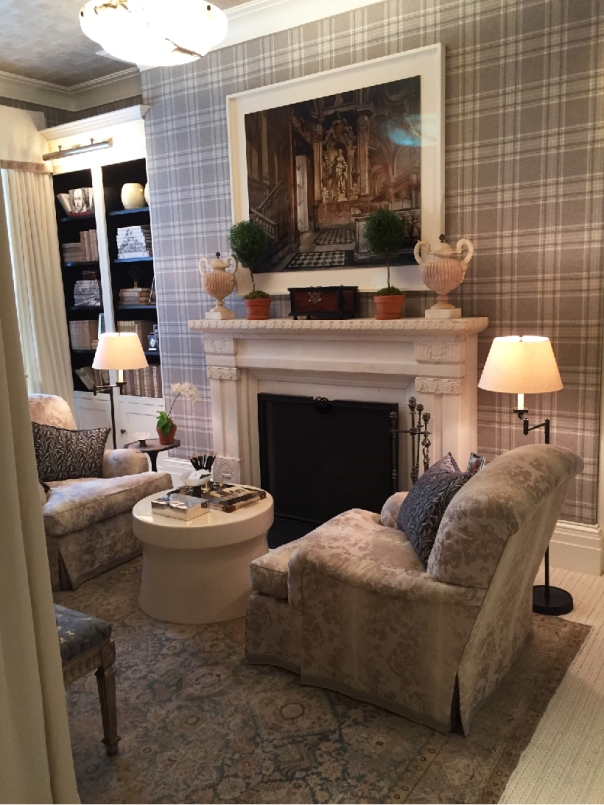 Kips Bay Decorator Show House 2015 - David Phoenix Gray Bedroom